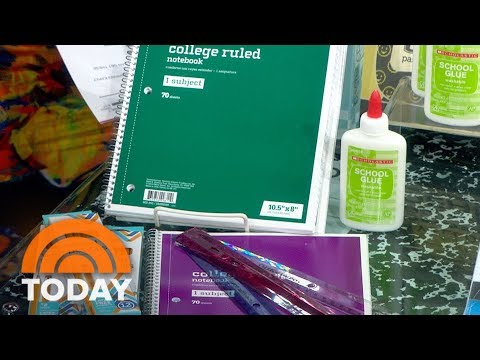 Back-To-School Bargains At Target, Office Depot And Elsewhere | TODAY