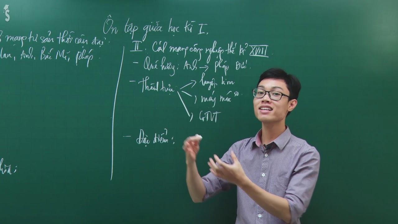 Ôn tập giữa học kì 1 – Lịch Sử 8 – Giáo viên: Trần Thanh Quang