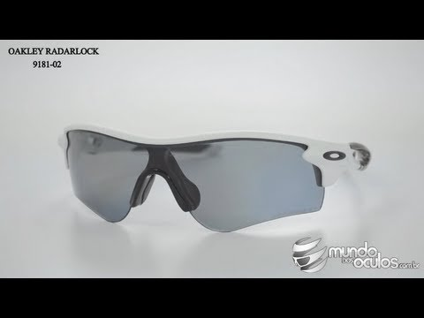 67c7f485381 Oakley Radarlock Path Polarizado - 9181-02 - YouTube