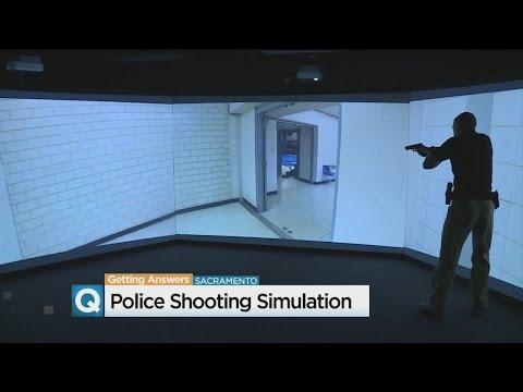 Sacramento Police Academy Training Scenario Simulator