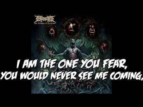 INGESTED -  A Nightmare Incarnate (With lyrics)