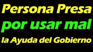 Persona PRESA en MIAMI , por no usar el DINERO de la AYUDA de forma correcta  PPP  EIDL | Marcos TV
