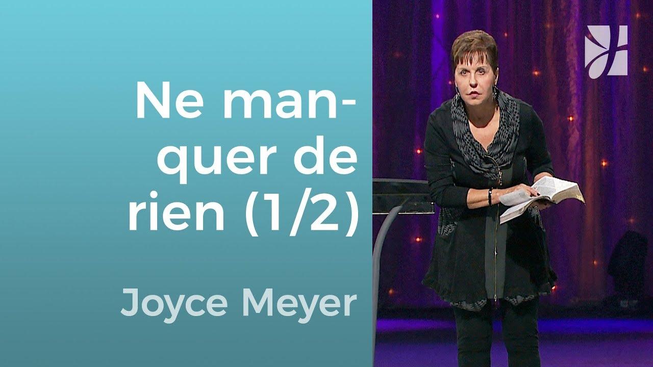 LES ENSEIGNEMENTS DE JOYCE MEYER