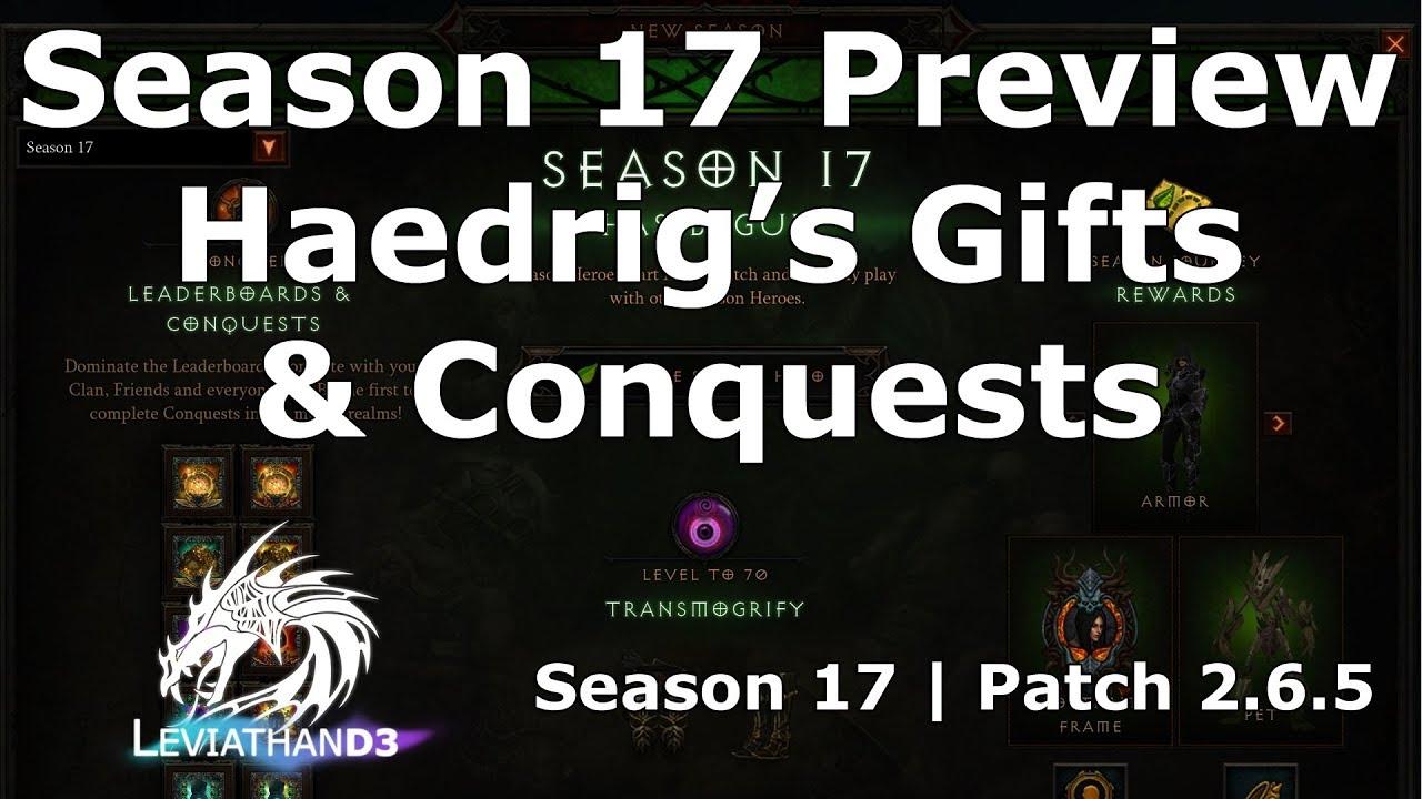 Diablo 3 Season 17 Preview Haedrig S Gifts Conquests