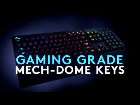 Logitech G213 Prodigy Gaming Keyboard - Video