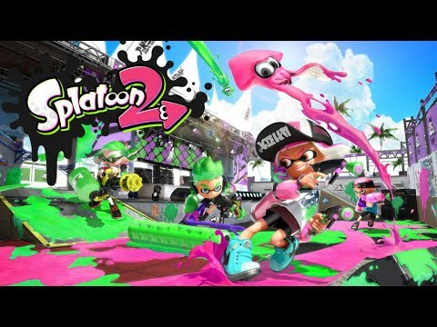 Nintendo Switch|Splatoon2 第二區 1~7 關