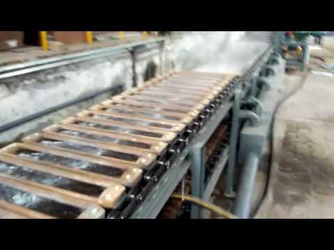 aluminum alloy ingot casting machine