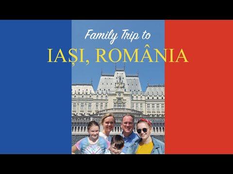 Family Trip to Iasi and Moldova, Romania