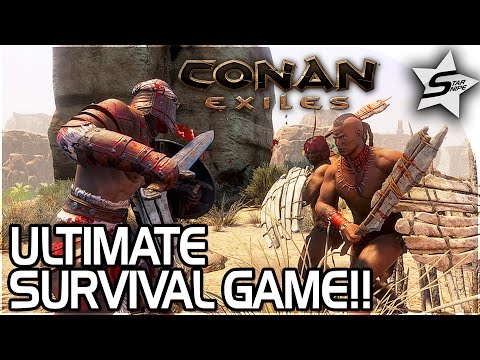 CONAN EXILES GAMEPLAY! – THE BEST SURVIVAL GAME EVER, GIVEAWAY!!  - Conan: Exiles Gameplay Part 1