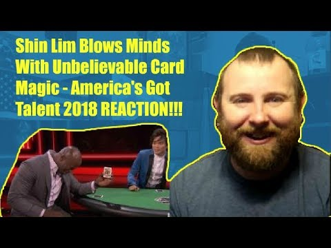 Shin Lim Blows Minds With Unbelievable Card Magic - America's Got Talent 2018 REACTION!! - YouTube