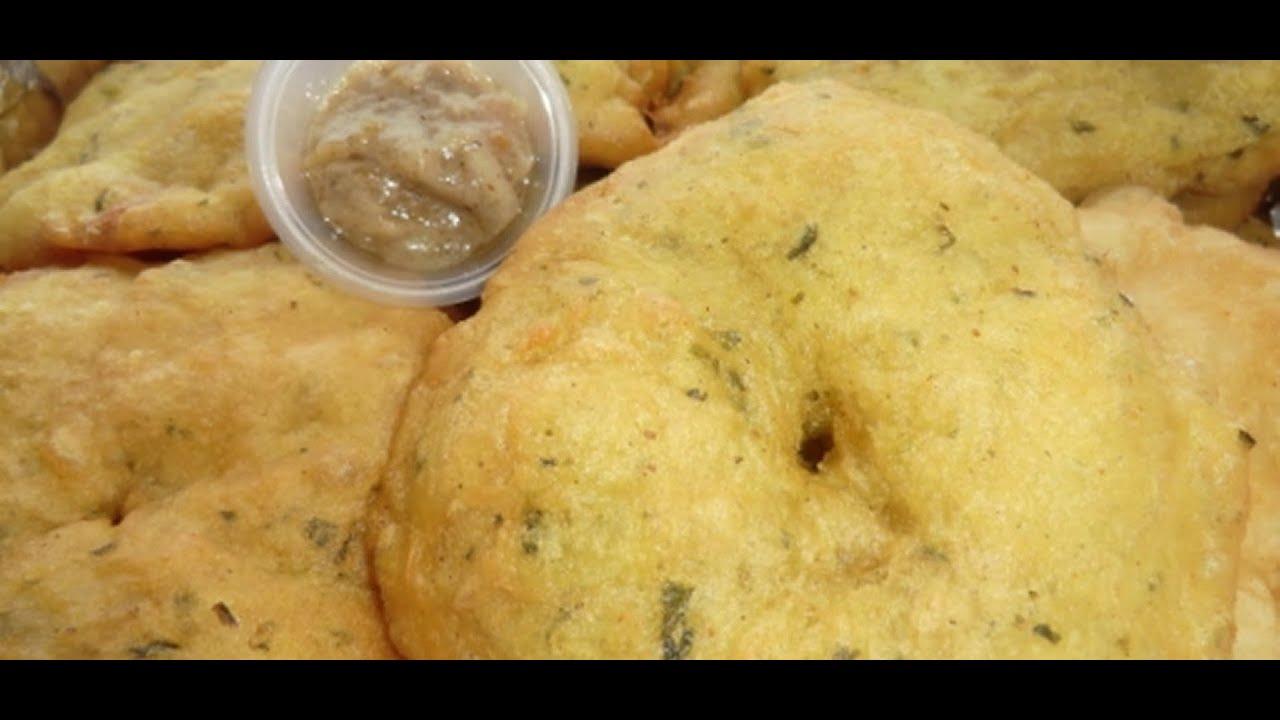 Surinaamse bara gevuld met kip kerrie surinaamse for Surinaamse keuken bara