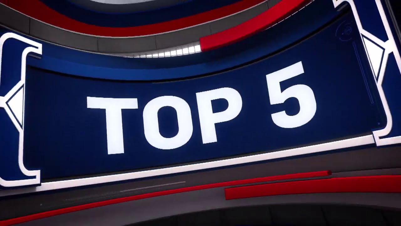 NBA Top 5 Plays Of The Night | July 25, 2020
