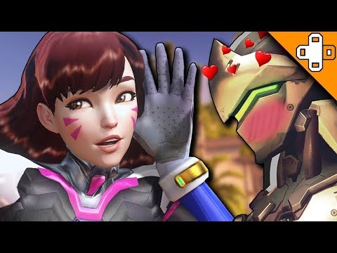 Genji Becomes a Husbando - Overwatch Funny & Epic Moments 781 thumbnail