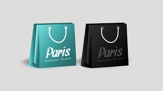 Create shopping bag in  Inkscape