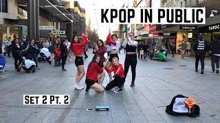 KPOP IN PUBLIC | ABK Crew Busking | Set Two Part Two
