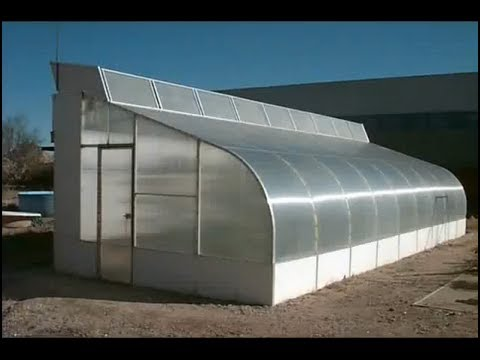 1 Best Thermal Cooled Greenhouse Youtube