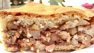 Осенний пирог с хрустящей бисквитной корочкой!