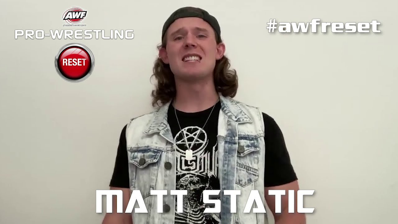 Matt Static Returns and is Aiming for Shane Saw at AWF Reset on 12 March in Blacktown