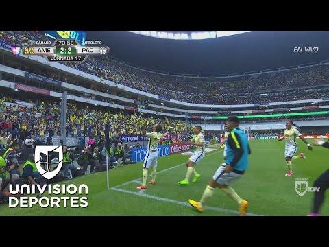 Golazo del América del juvenil Manuel Pérez y las Águilas igualan 2-2