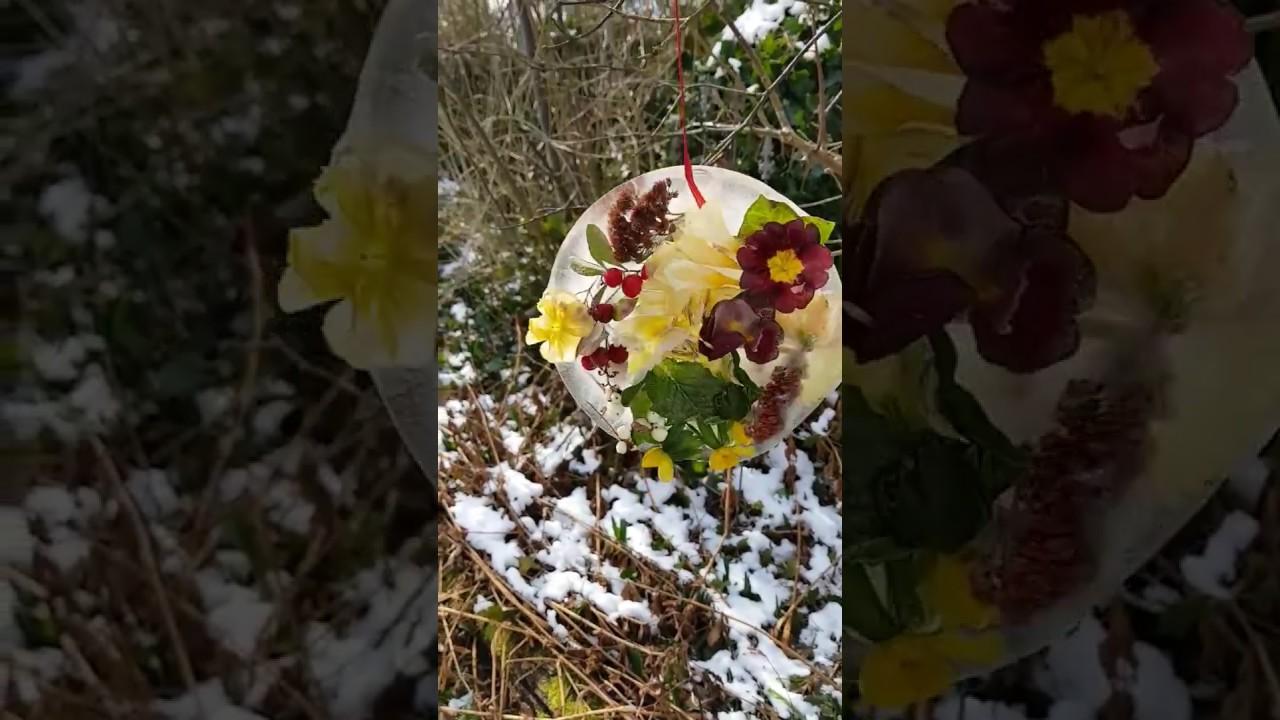 Eistaler basteln winterdeko f r garten und balkon diy for Winterdeko fur garten