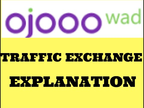 Ojooo Wad Traffic Exchange Explanation In Urdu.