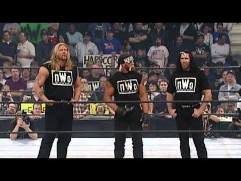 The nWo debuts in WWE: No Way Out 2002