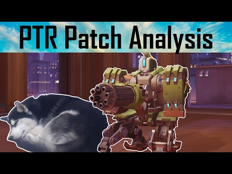Overwatch PTR Analysis But My Dog Is Sleeping In The Corner