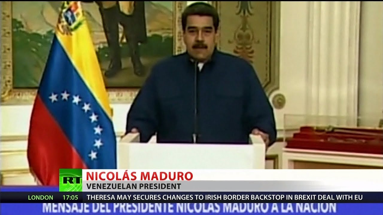 Maduro accuses US of 'electric war' on Venezuela
