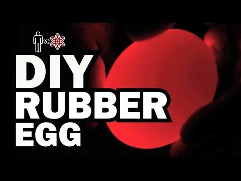 DIY Rubber Eggs - Man Vs. Science #2