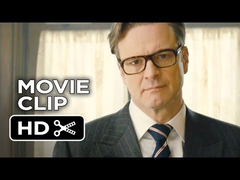 Kingsman: The Secret Service Movie CLIP - Bar Fight (2015) - Colin Firth Movie HD
