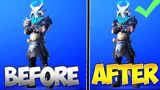 the NEW RAGNAROK STAGE 5 - NO SHOULDER PADS... 3 SEASONS LATE? (Fortnite Max Ragnarok Stage 5 Style)