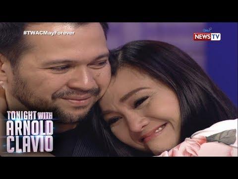 Tonight with Arnold Clavio: Gladys Reyes and Christopher Roxas, naging emosyonal sa 'TWAC'