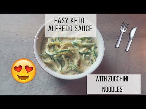 easy-keto-alfredo-sauce-|-zoodles-|-zucchini-noodles