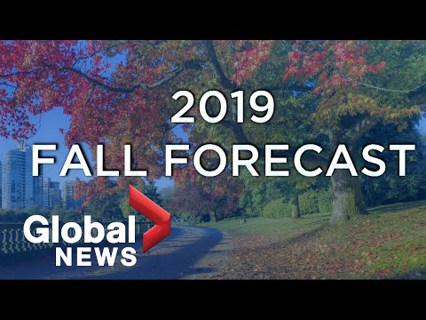 Canada's Fall Weather Forecast For 2019