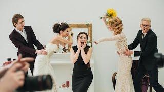 Фотопроект Война невест. Backstage
