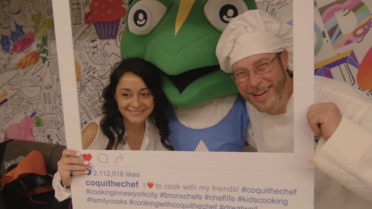 Healthy Cooking For Picky Kids with Coqui the Chef