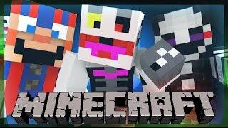 Minecraft Five Nights at Freddy s 2 Ужасная Ночь в Майнкрафте 2