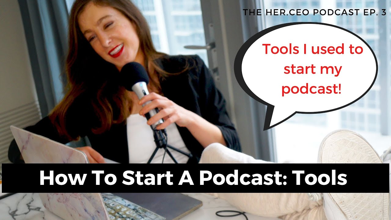 How Do You Start a Podcast? Start a Podcast Using Free & Low Cost Tools | Learn to Create a Podc