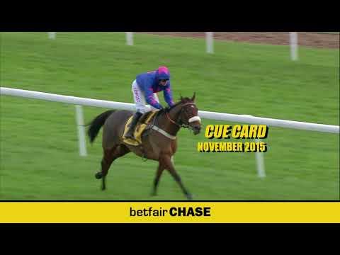 Cue Card - 3 times Betfair Chase winner