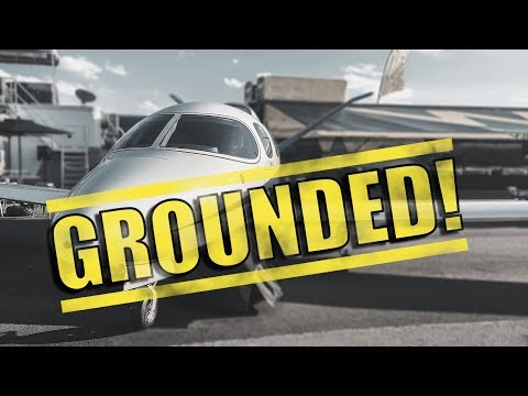 Why did the FAA GROUND Cirrus VISION JETS?