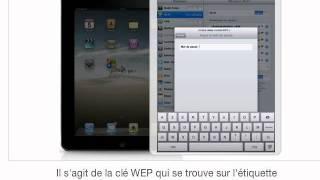 Connecter votre iPad à votre Livebox en Wifi