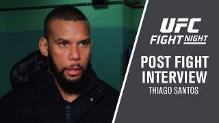 UFC Prague: Thiago Santos - 'I Had a lot to Overcome to Get Here'
