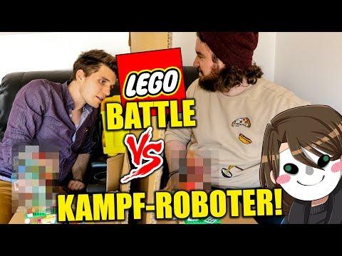 KAMPFROBOTER AUS LEGO! + GLP ALS SCHIEDSRICHTER! | MINECRAFT MASTERBUILDER IN REALLIFE