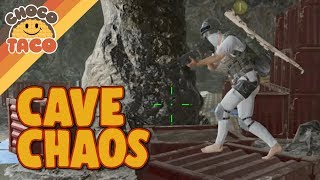 Chaotic Cave Battle Leads to High-Kill Game - chocoTaco PUBG Gameplay