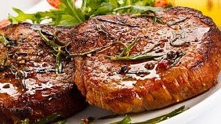 Свиной стейк с кисло-сладким перцем