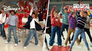 High School Musical Vs. High School Musical: The Musical: The Series Side By Side | Disney+