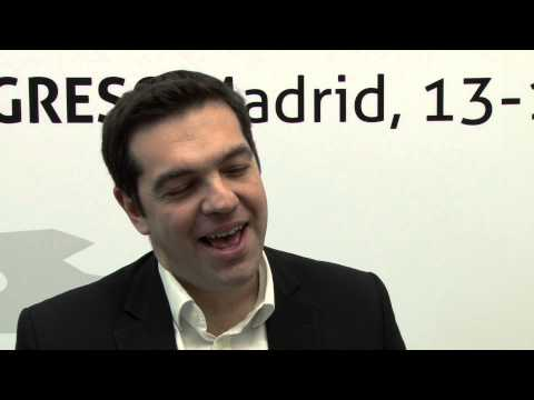 Interview with Alexis Tsipras - 4th European Left Congress