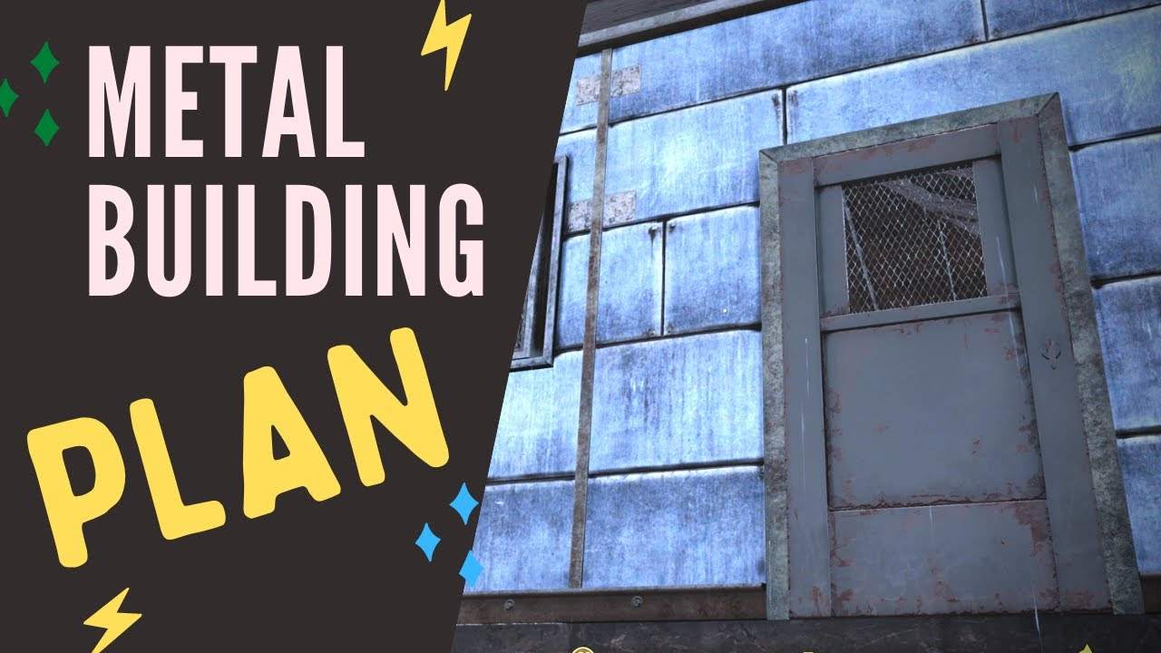 Fallout 76 Metal Building Plan Location Youtube