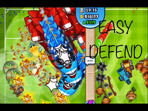 Bloons TD Battles: The NEW BEST Strategy in BTD Battles?! Easily defend massive rush!