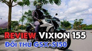 Review Vixion R155 đối thủ của GSX-S150 | Vixion 155 vs GSX-R150 | MinC Motovlog